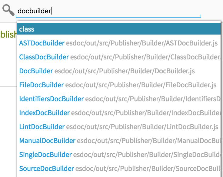 ESDoc - A Good Documentation Generator for JavaScript